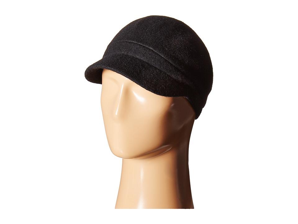 Betmar - Rhinestone Cap (Black) Caps