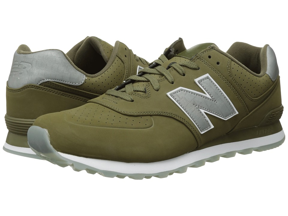 New Balance Classics ML574v1 (Triumph Green/Triumph Green) Men