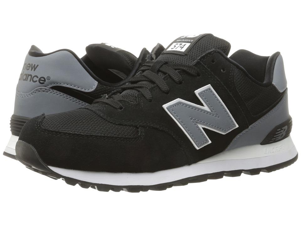 New Balance Classics ML574v1 (Black/Grey) Men