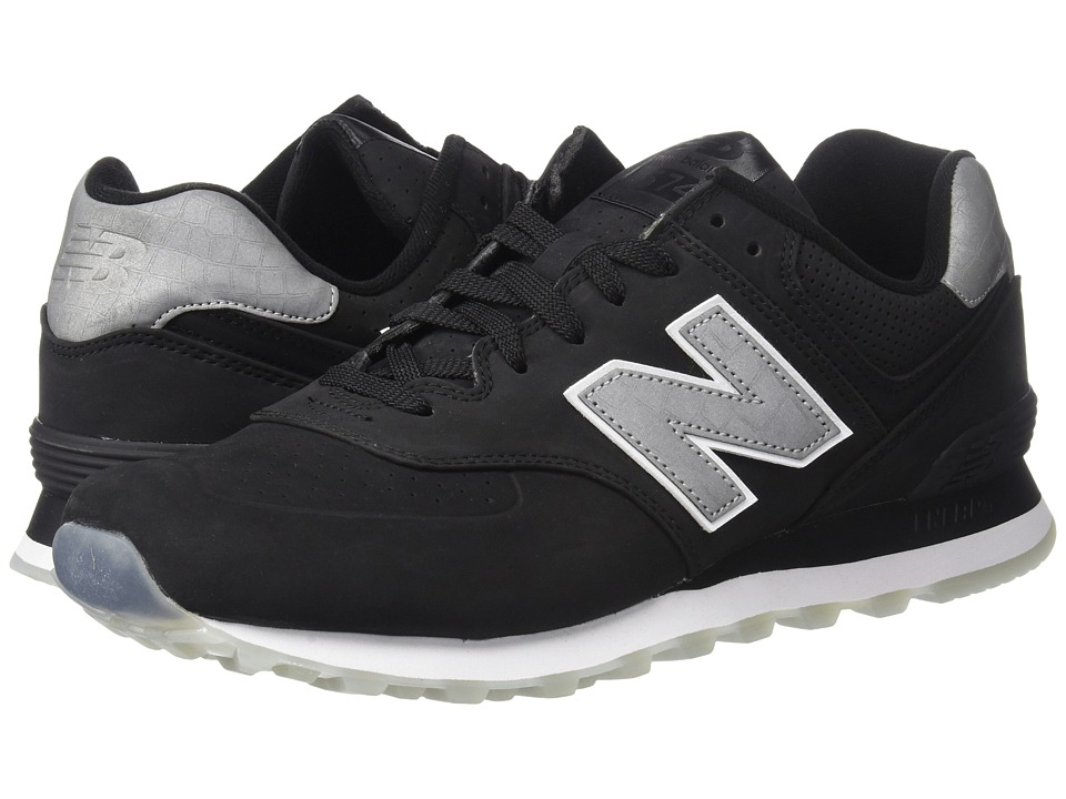 New Balance Classics ML574v1 (Black/Black) Men