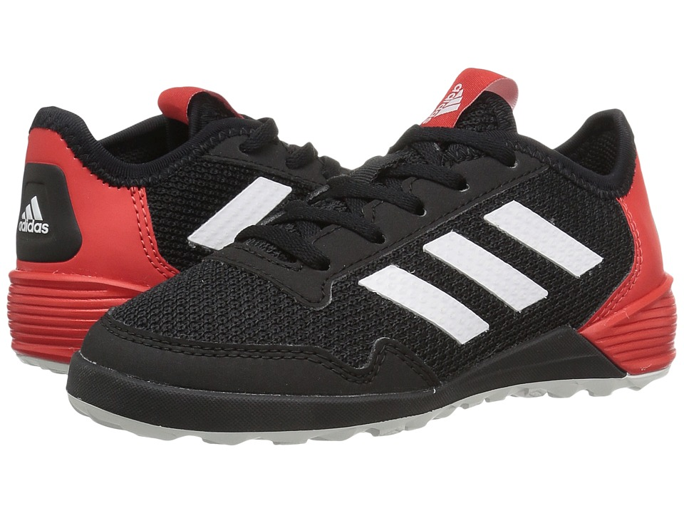 adidas Kids Ace Tango 17.2 IN Soccer (Little Kid/Bid Kid) (Black/White/Red) Kids Shoes