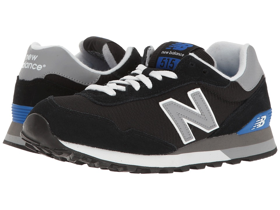 New Balance Classics - ML515 (Black/Grey) Mens Classic Shoes