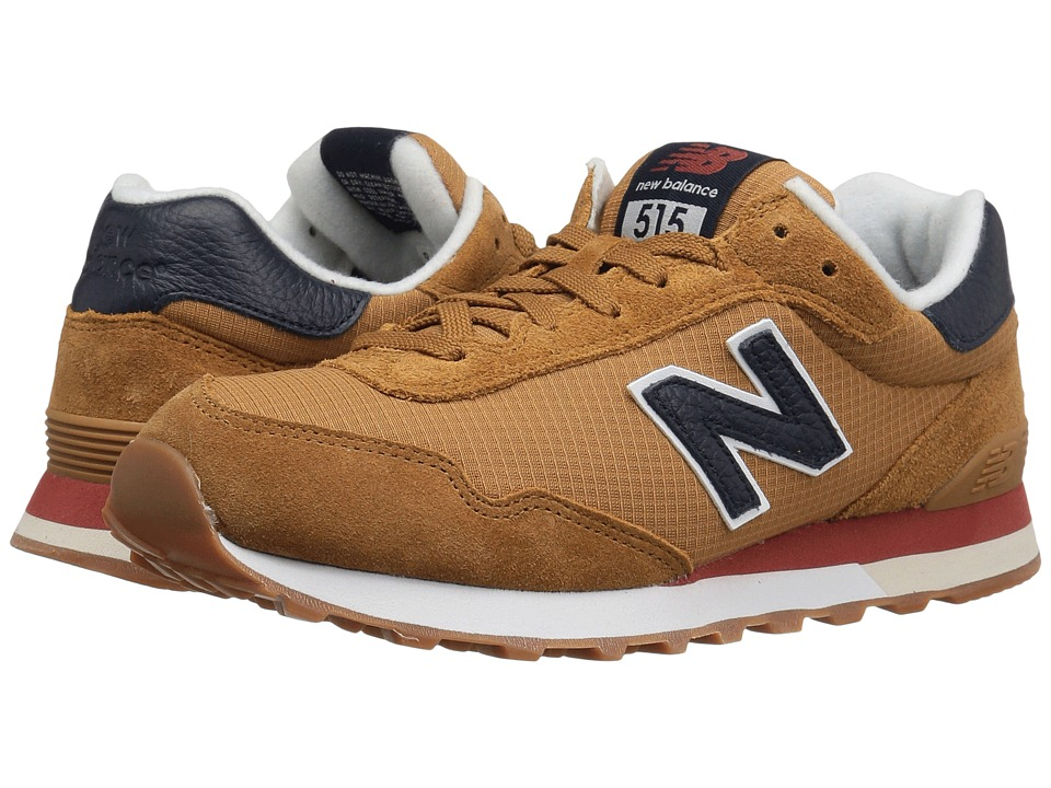 New Balance Classics - ML515 (Wheat/Navy) Mens Classic Shoes