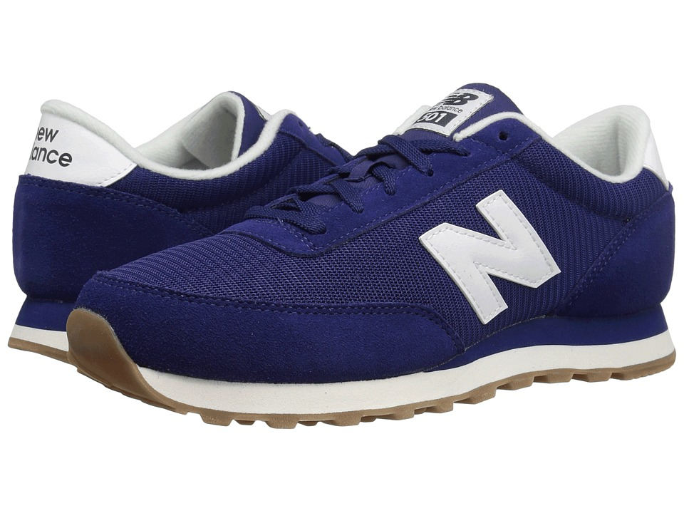 New Balance Classics - ML501 (Navy/White 1) Mens Classic Shoes