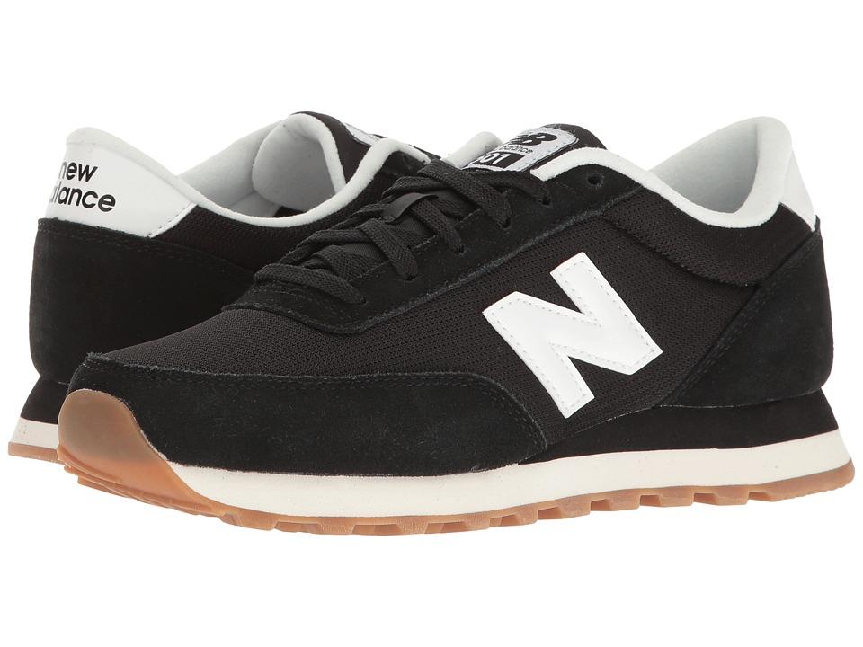 New Balance Classics - WL501 (Black/Black) Womens Classic Shoes
