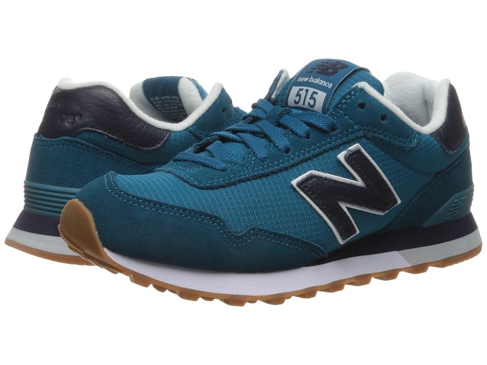 New Balance Classics - WL515 (Lake Blue/Pigment) Womens Classic Shoes