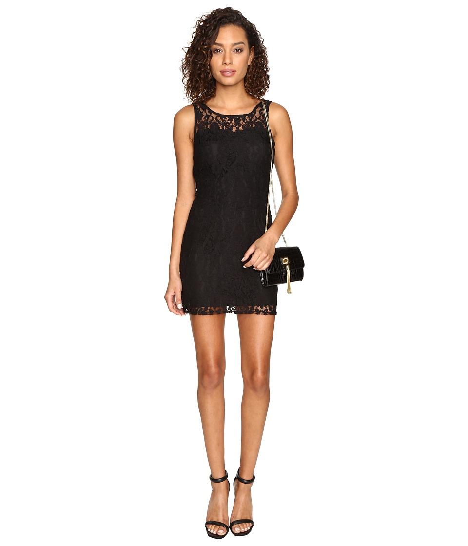 BB Dakota Thessaly Lace Dress (Black) Women