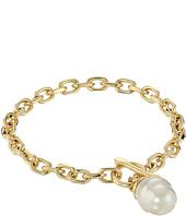 Majorica - Modern Metal Gold Bracelet