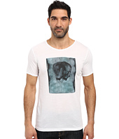 HUGO - Driple Short Sleeve Crew Artistic Graphic
