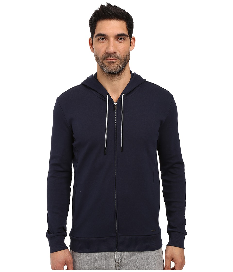 HUGO - Dalermo Full Zip Hoodie (Navy) Men