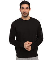 HUGO - Danremo Long Sleeve Crew with Pocket Detail