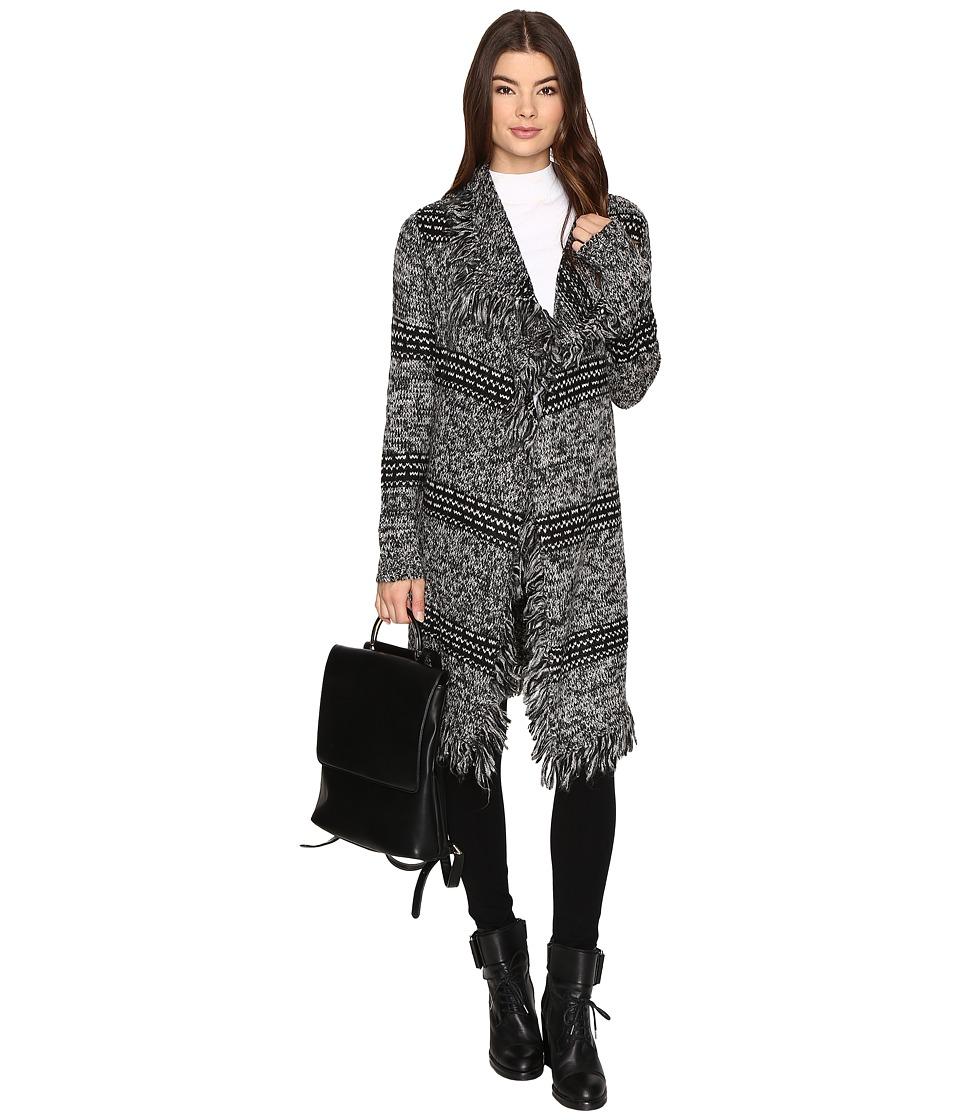 BB Dakota Philip Fringe Detailed Sweater (Black) Women