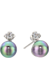 Majorica - TU Y YO CZ Silver Stud Earrings