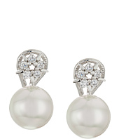 Majorica - TU Y YO North Star CZ Silver Stud Earrings