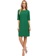 Tahari by ASL - Seamed Sheath w/ Elbow Length Sleeves