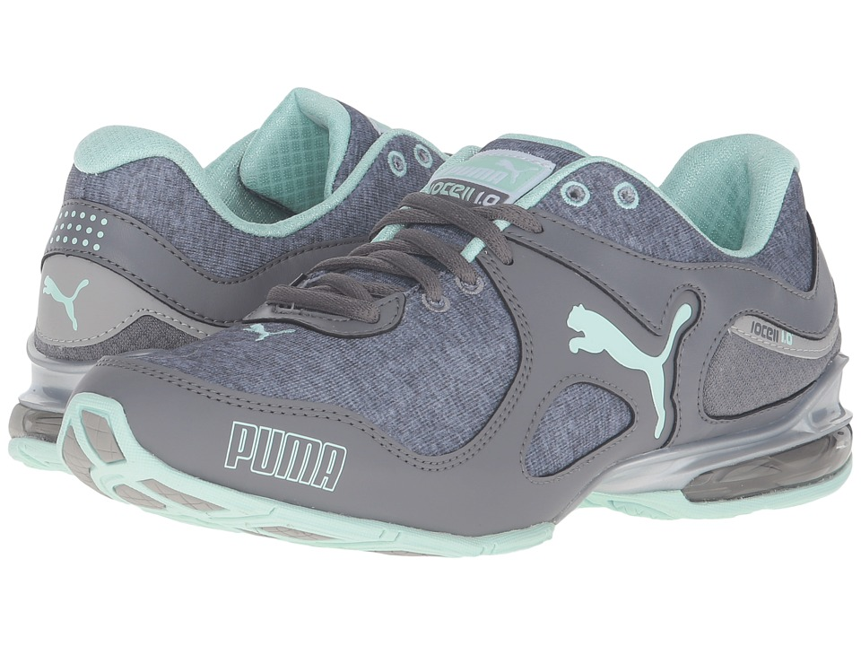 PUMA Cell Riaze Heather FM (Steel Gray/Drizzle Blue) Women