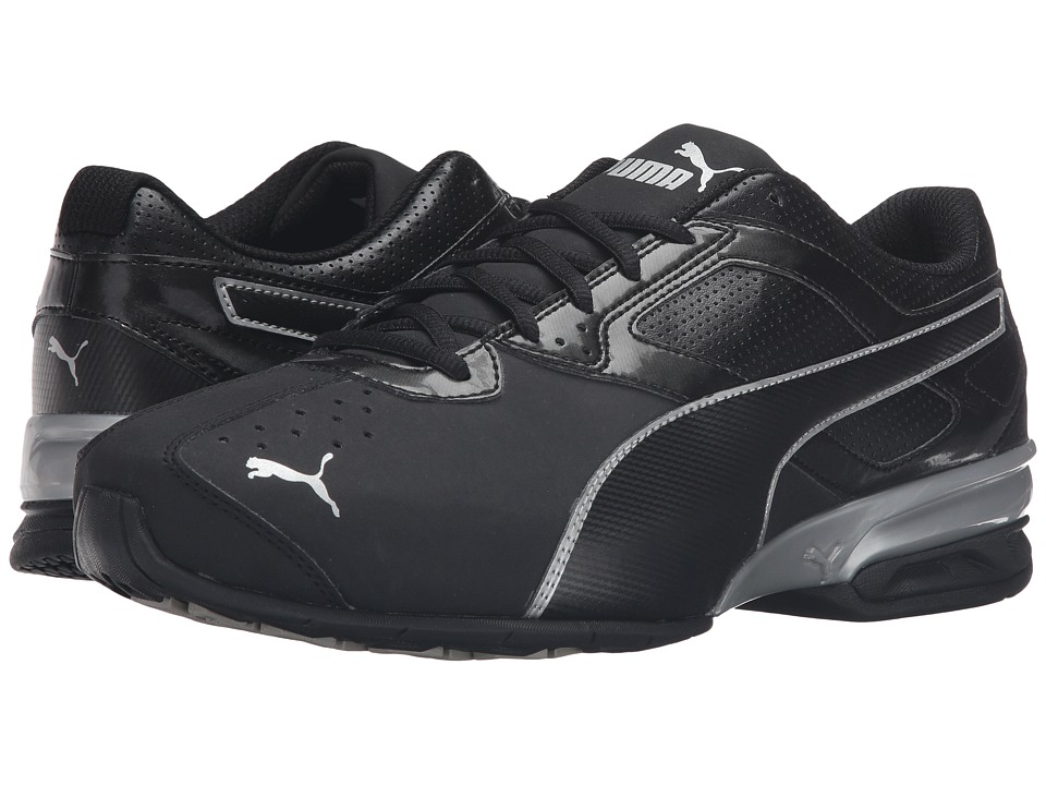 PUMA - Tazon 6 Wide FM (Puma Black/Puma Silver) Mens Lace up casual Shoes