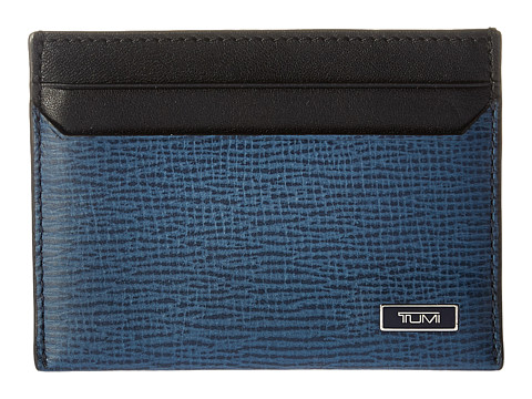 Tumi Monaco Slim Card Case - Cobalt