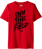 Under Armour Kids - Own The Field Short Sleeve Tee (Big Kids)