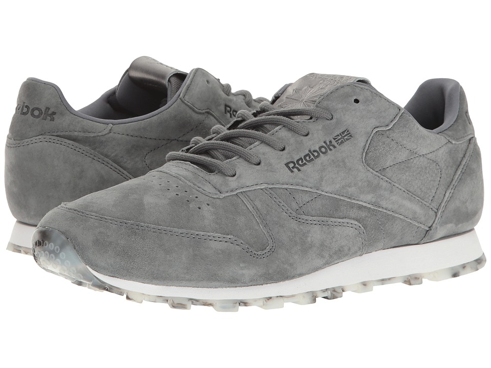 Reebok Lifestyle Classic Leather Shmr (Alloy/White/Pewter) Women