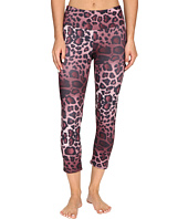 Onzie - Purple Cheetah Capri Leggings
