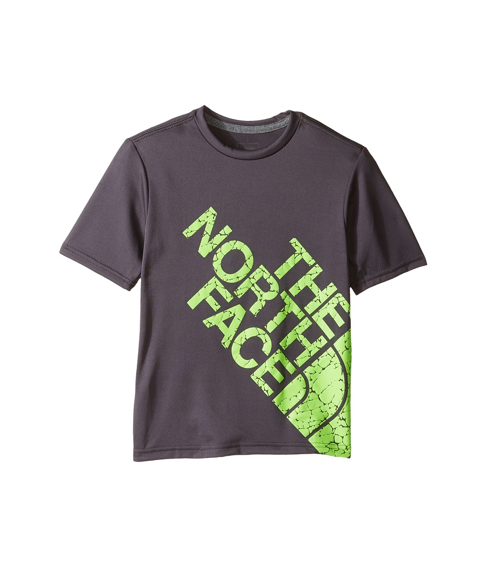 The North Face Kids Short Sleeve Reaxion Tee (Little Kids/Big Kids) (Graphite Grey) Boy