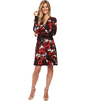 Karen Kane - Painted Rose A-Line Dress