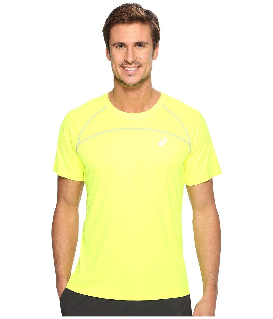ASICS Favorite Short Sleeve Shirt (Safety Yellow) Men