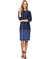 Donna Morgan - Boat Neck Raglan Scuba Dress
