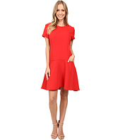 Donna Morgan - T-Shirt Dress with Flared Skirt
