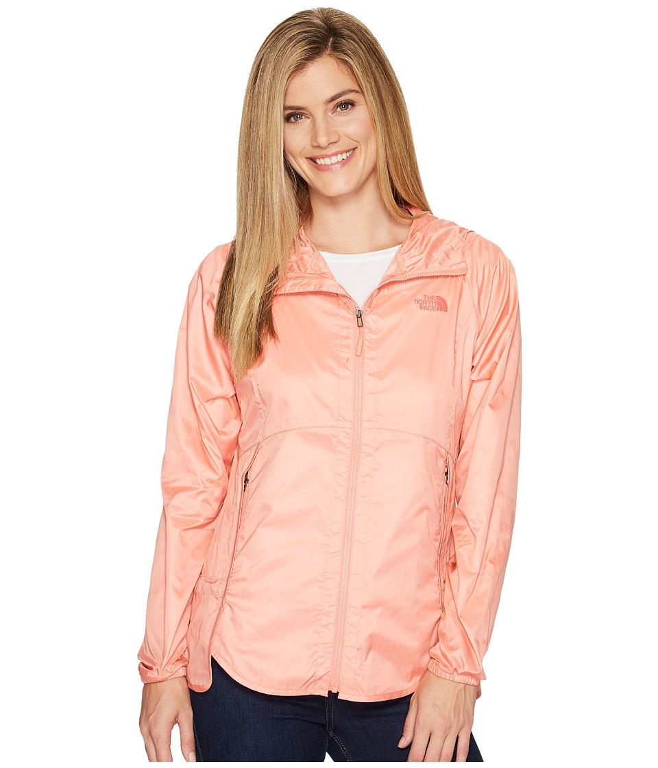 The North Face - Flyweight Hoodie (Burnt Coral (Prior Season)) Womens Sweatshirt