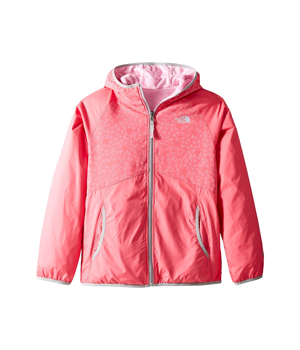 The North Face Kids Reversible Breezeway Wind Jacket (Little Kids/Big Kids) (Honeysuckle Pink (Prior Season)) Girl