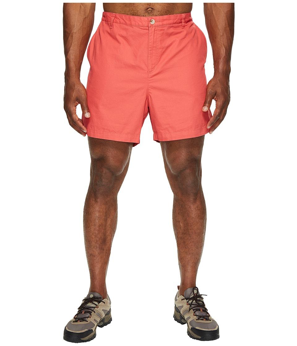Columbia Big Tall Bonehead II Shorts (Sunset Red) Men