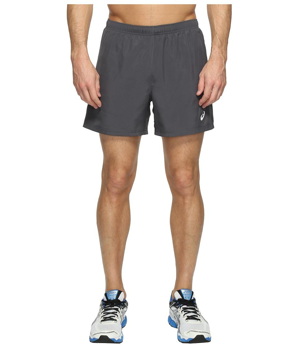 ASICS Woven 5 Shorts (Dark Grey) Men