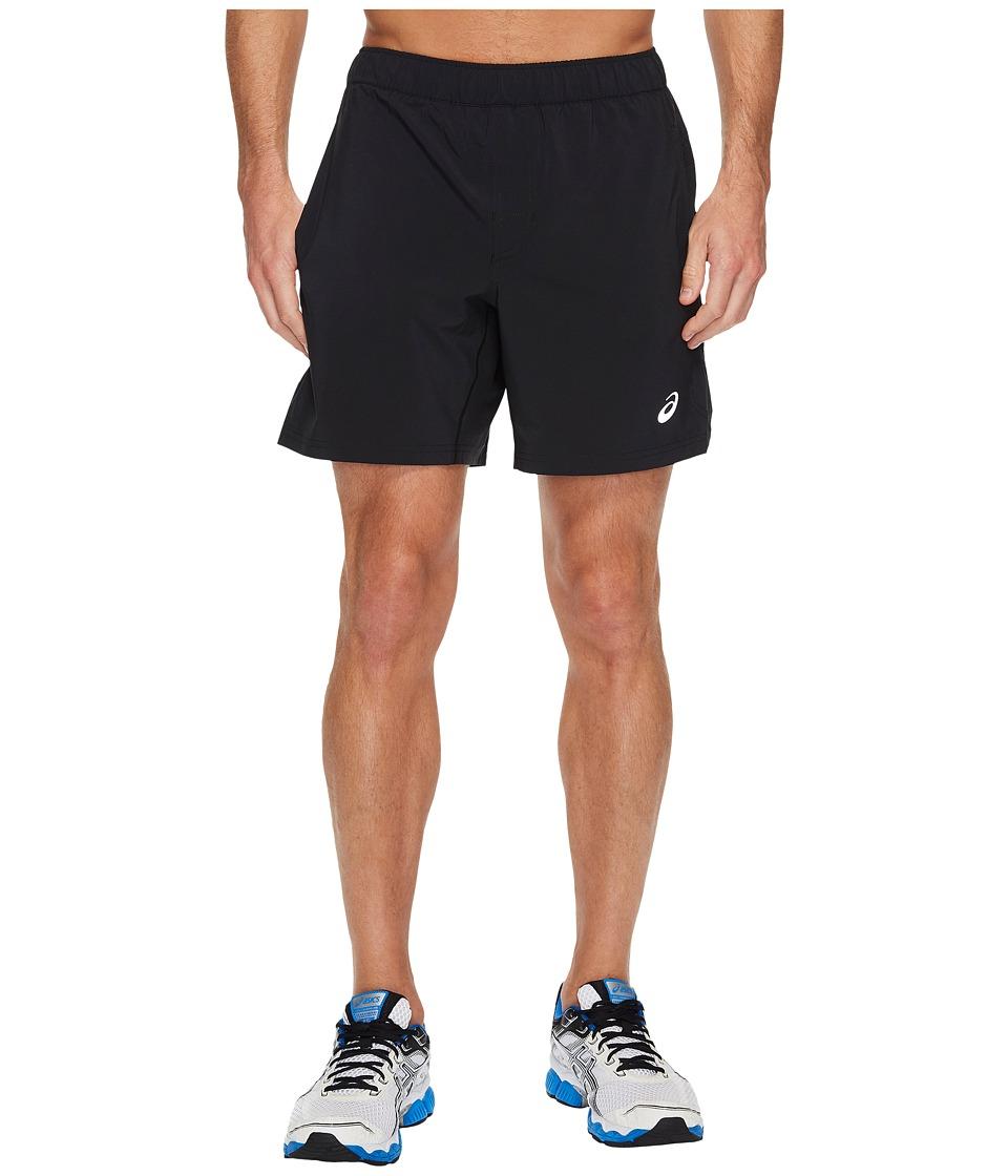 ASICS 7 Woven Shorts (Performance Black) Men