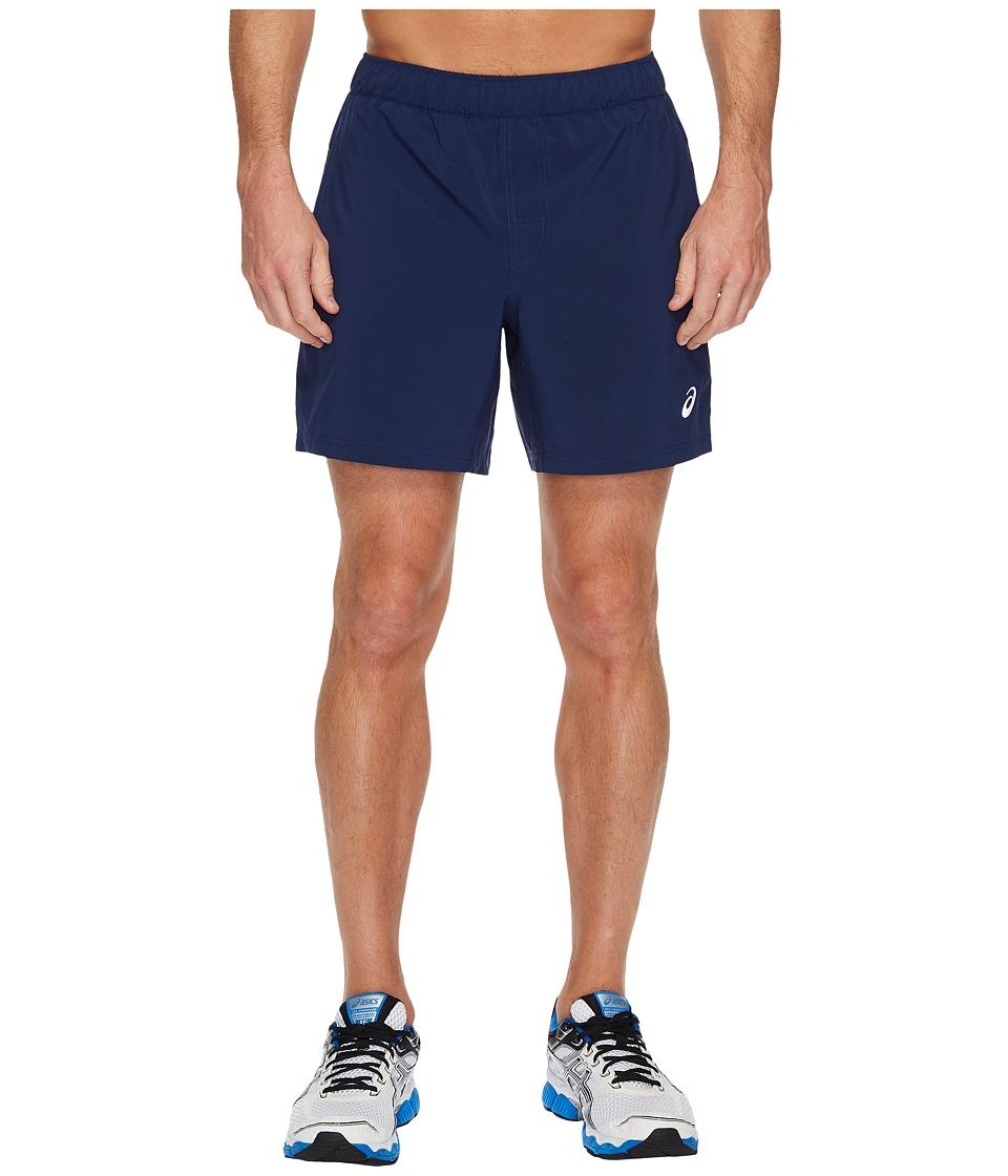 ASICS 7 Woven Shorts (Indigo Blue) Men