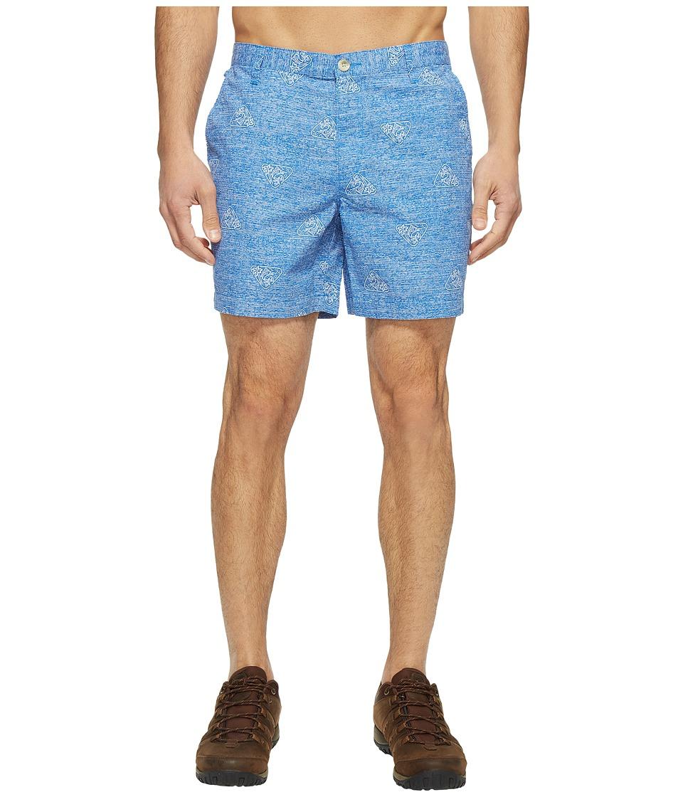 Columbia Super Bonehead II Shorts (Vivid Blue Botanical) Men
