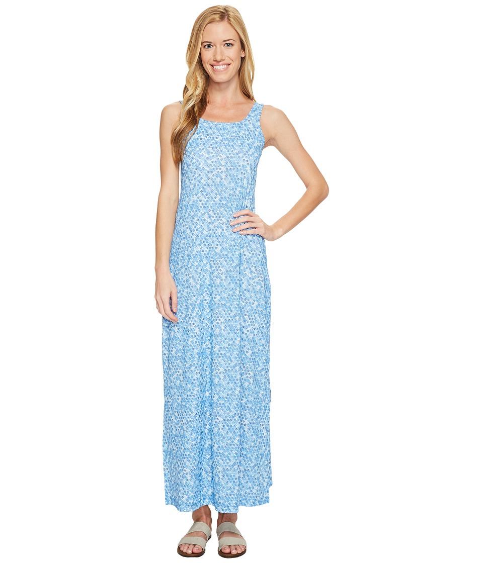 Columbia Freezer Maxi Dress (Harbor Blue School Fish) Women