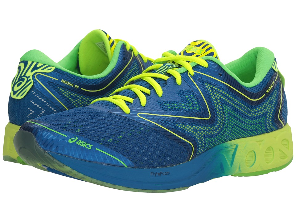 ASICS Noosa FF (Imperial/Safety Yellow/Green Gecko) Men