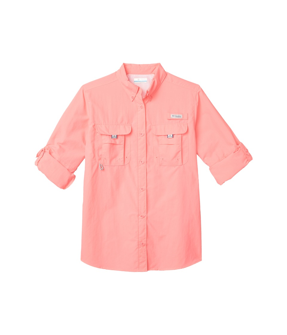 Columbia - Bahamatm L/S Shirt (Lollipop) Womens Long Sleeve Button Up