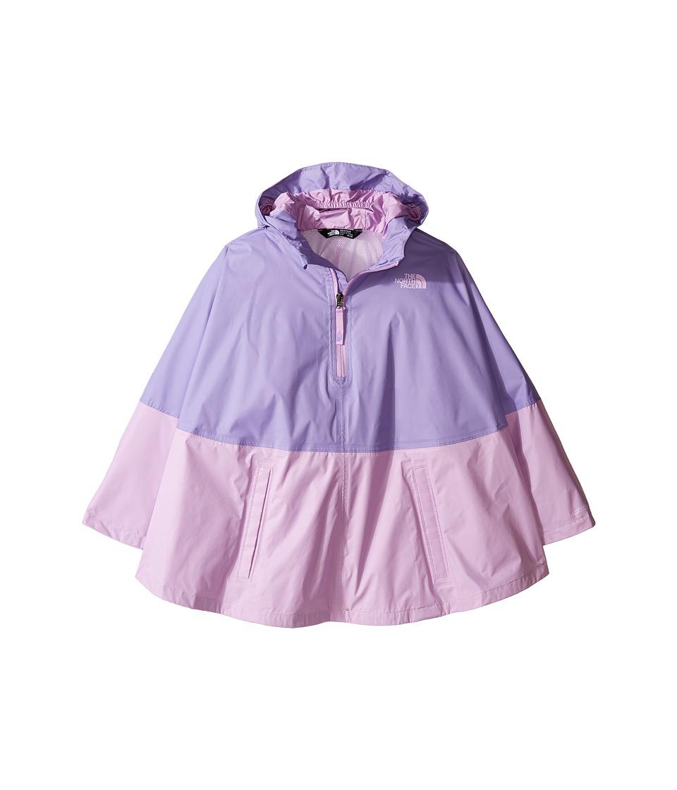 The North Face Kids Camille Rain Poncho (Little Kids/Big Kids) (Paisley Purple (Prior Season)) Girl