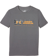 Under Armour Kids - Knockout Bar Wordmark Short Sleeve Tee (Big Kids)