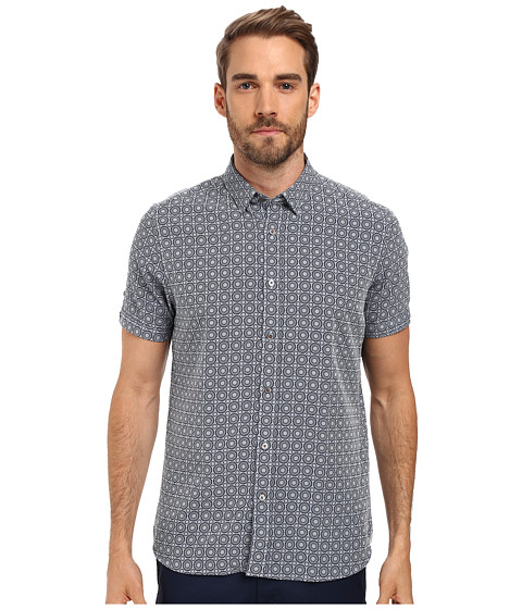 Ted Baker Short Sleeve Geo Print Shirt