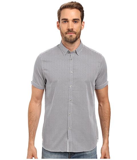 Ted Baker Teeger Short Sleeve Diamond Print Shirt