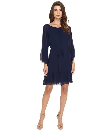 Christin Michaels Fairview Bell Sleeve Dress