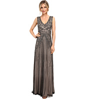 Adrianna Papell - Fully Beaded Sleeveless Gown