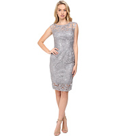 Adrianna Papell - Extended Shoulder Sequin Lace Sheath