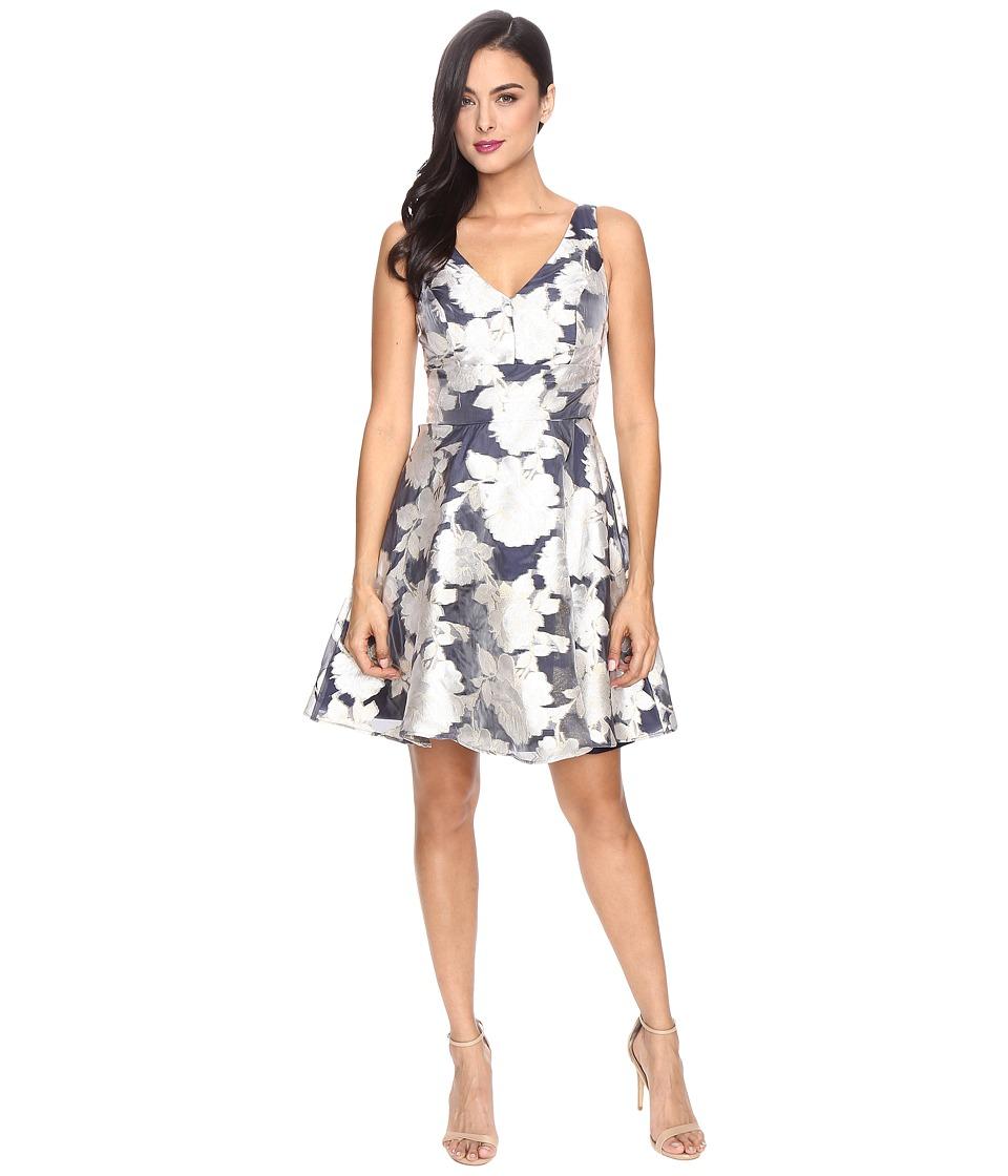 rsvp - Orlinda Metallic Burnout Dress