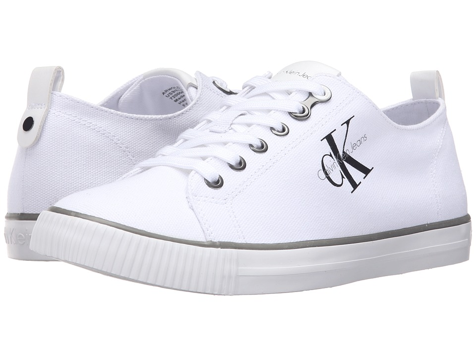 Calvin Klein - Arnold (White Canvas) Men