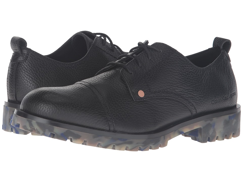 Calvin Klein Nox (Black Thicker Grainy Leather) Men